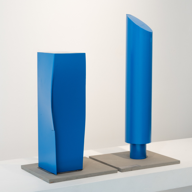 , 'Blue Columns, maquette,' 2017, Studio 21 Fine Art