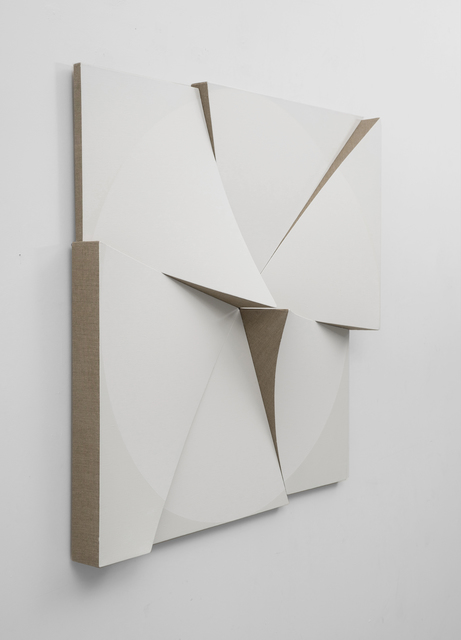 , 'Roundtrip Pointless White on White,' 2018, Peter Blake Gallery