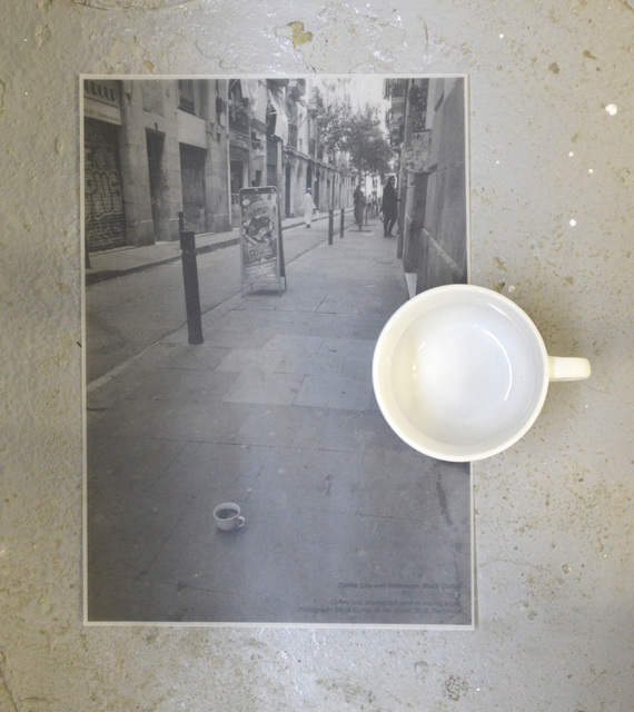 , 'COFFEE CUP AND REFERENCE: BLACK COFFEE,' 2018, Hans & Fritz Contemporary