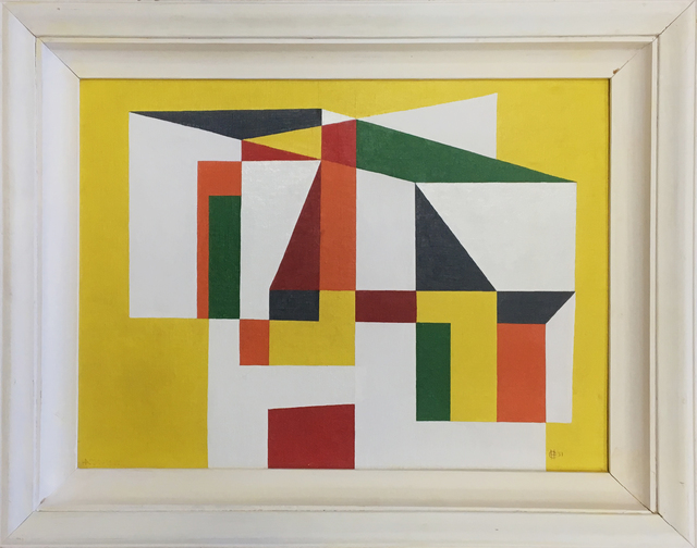 , 'Construction #1,' 1951, 203 Fine Art