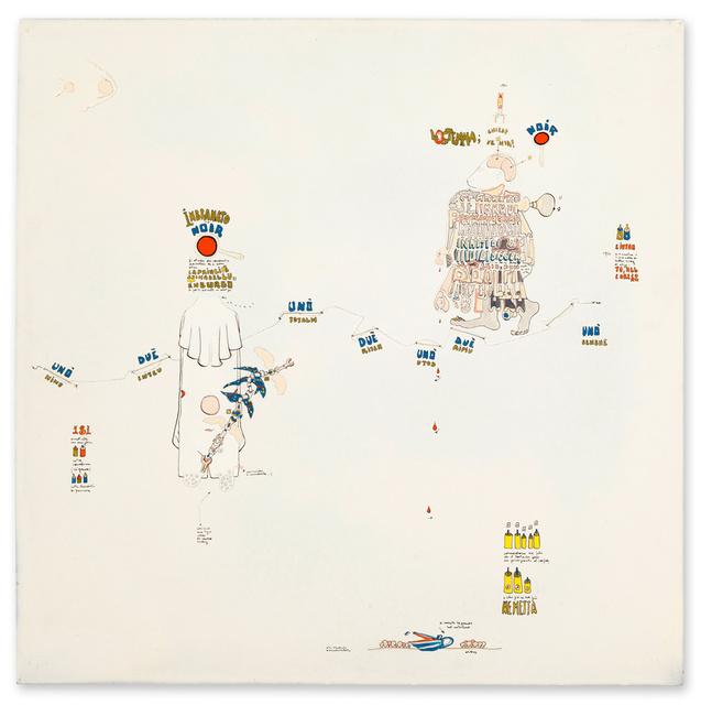 , 'Indizi di discorsi paralleli,' 1969, Galerie Michael Hasenclever