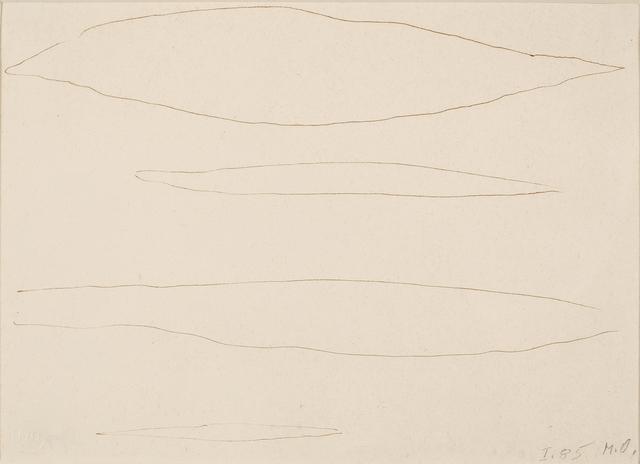 , 'Vier Wolken,' 1985, Galerie Krinzinger