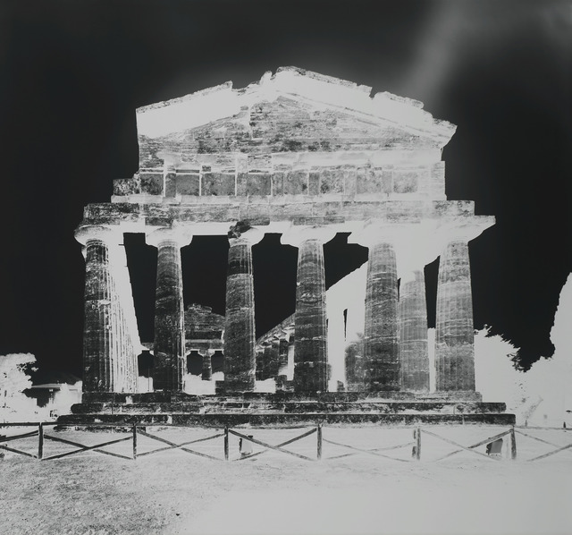 Vera Lutter, 'Temple of Athena, Paestum XIII: October 13', 2015, Gagosian