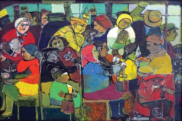 """, '""""Bus"""" / """"Otobüs"""",' 2015, Galeri 77"""