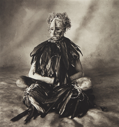 Irving Penn, 'Sitting Man with Pink Face, New Guinea,' 1970, Phillips: Photographs (April 2017)