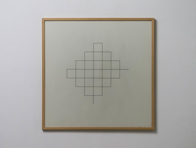 , 'single line,' 1974, Edition & Galerie Hoffmann
