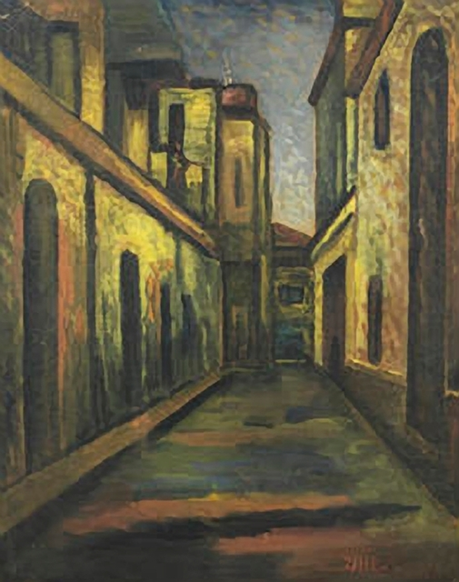 , 'Untitled (City Street),' ND, Aicon Gallery