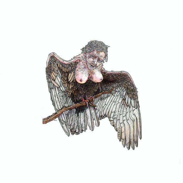 , 'Female Harpy,' 2015, LE Gallery
