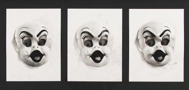 Brock Enright, '3 Caspers', 2008, Dieu Donné Benefit Auction