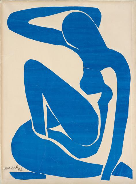 Henri Matisse, 'Nu bleu I (Blue Nude I)', 1952, Fondation Beyeler