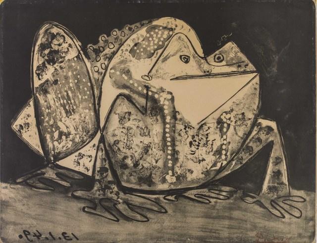Pablo Picasso, 'Le crapaud', 1949, ArtRite