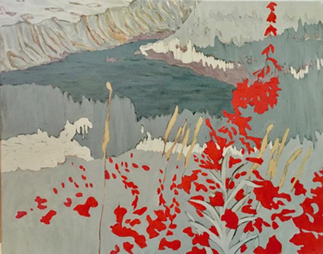 , 'Hidden Lake,' 2017, J. Cacciola Gallery