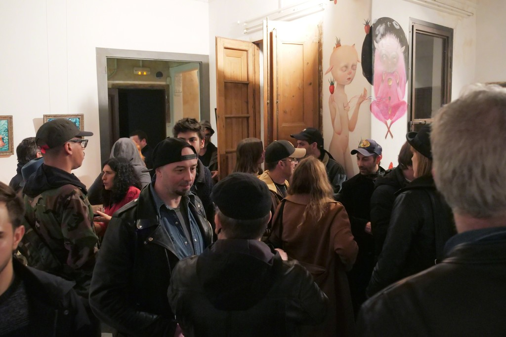 It's getting crowded … Saturnalia Group Show at Fousion Gallery