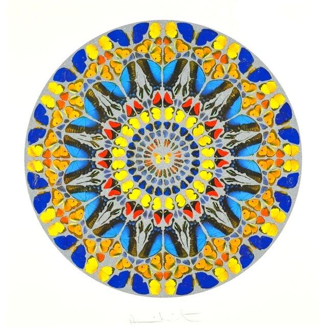 Damien Hirst, 'Psalm: Confitebor Tibi (with Diamond Dust)', 2010, Vogtle Contemporary