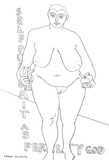 Alexandru Rădvan, 'Self Portrait as Fertility God', 2018, Anaid Art