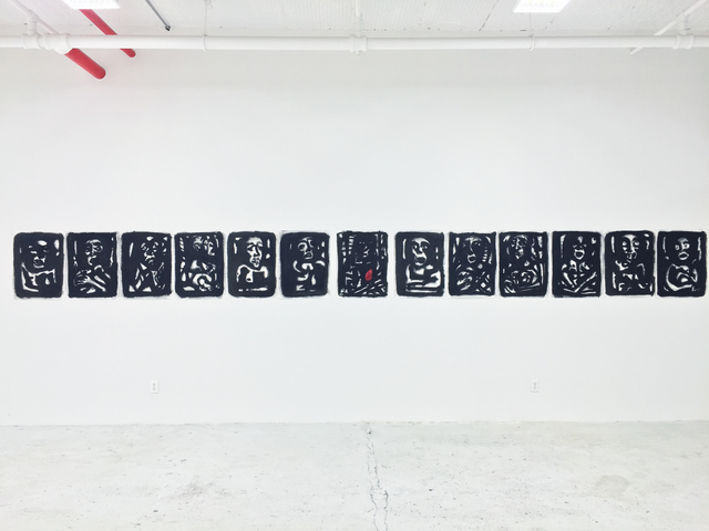 , 'Polyptych - The Last Supper,' 2015, SILAS VON MORISSE gallery