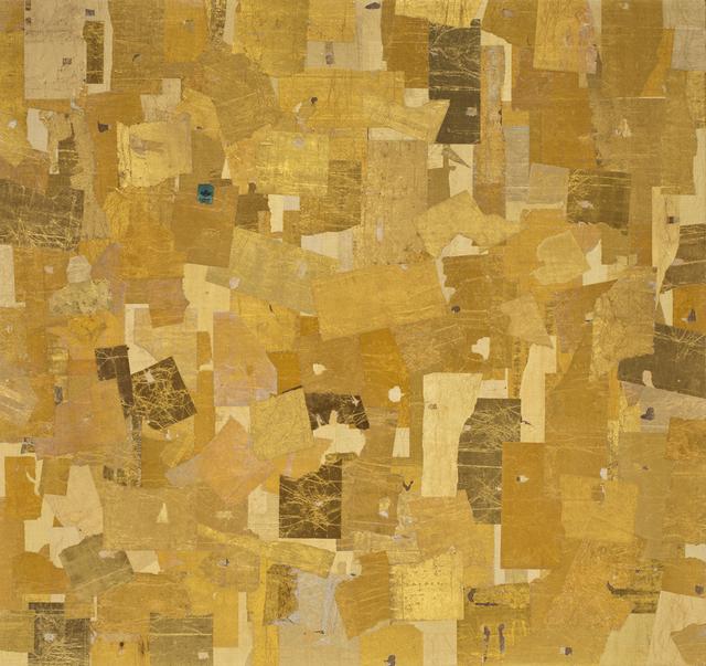 Robert Larson, 'Gold Square (1)', 2014, River