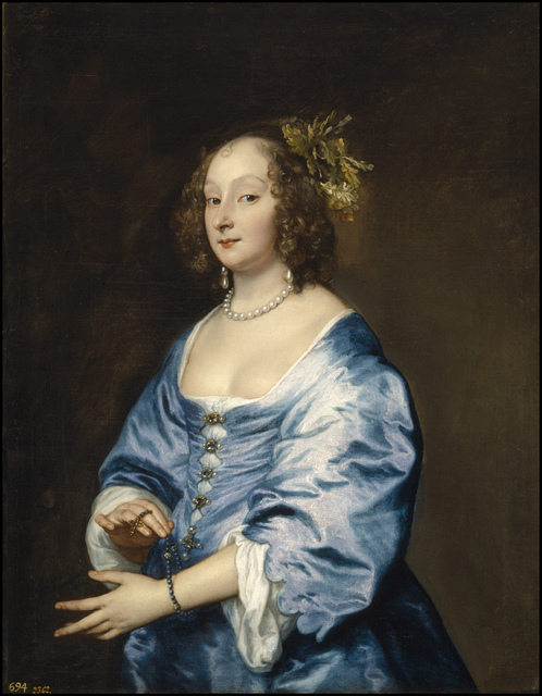 , 'Mary, Lady van Dyck, née Ruthven,' 1640, The Frick Collection