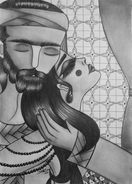Hasnaa Tabra, 'Story of lovers', 2018-2019, Artscoops
