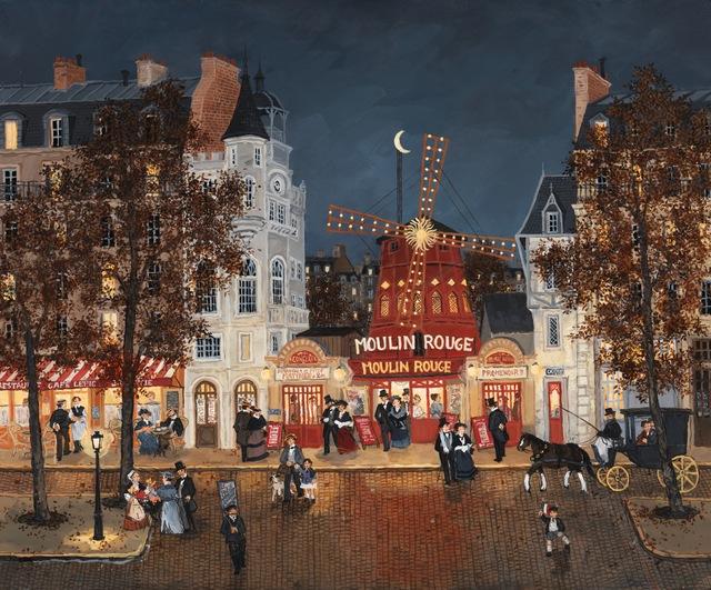 , 'Au Moulin Rouge,' , Hugo Galerie