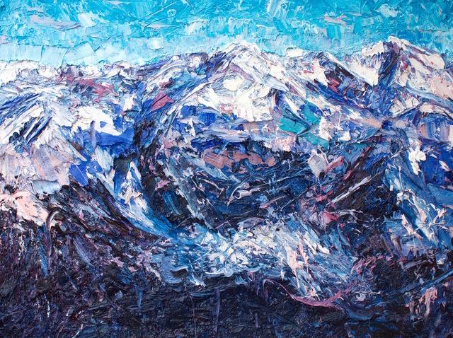 , 'Fox Glacier from Above ,' 2017, Rebecca Hossack Art Gallery