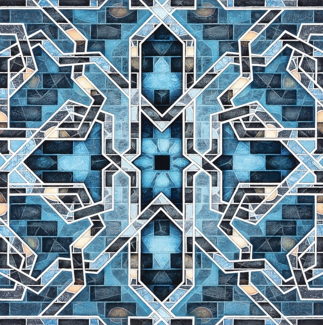 Joan Elliott, 'Blue Flower', 2019, Reynolds Gallery