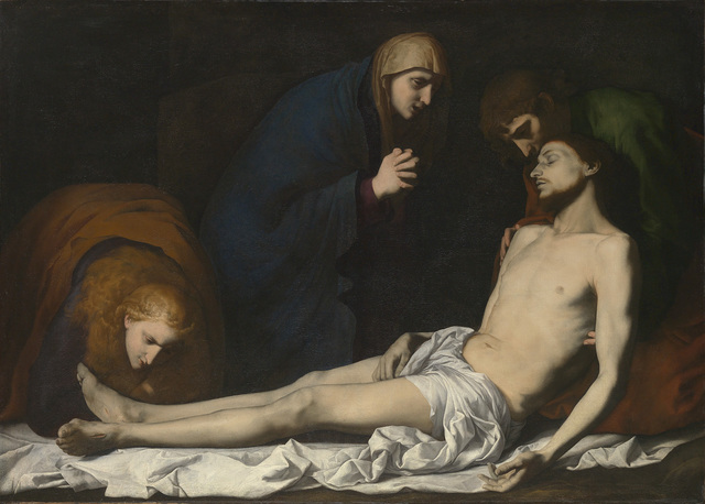 , 'Lamentation over the Dead Christ,' Early 1620s, The National Gallery, London