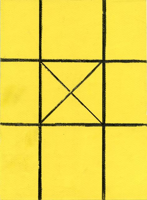 , 'Sin título (HZ 1985 – Z – 191),' 1985, Galería Juana de Aizpuru