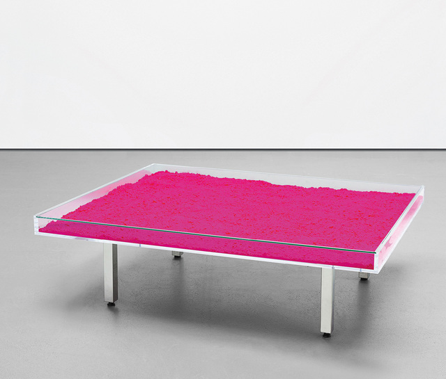 Yves Klein, 'Table Rose', designed in 1961, Phillips