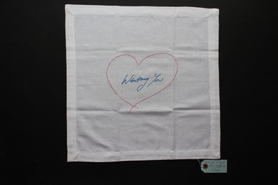 Wanting You (Pink/ Blue) Napkin
