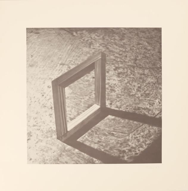 , 'Blatt h aus der Edition: 9 Objekte ,' 1969, Galerie Brigitte Schenk
