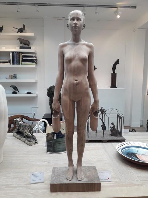 Mario Dilitz, 'No. 177 Girl with Shoes ', 2019, Sladmore Contemporary