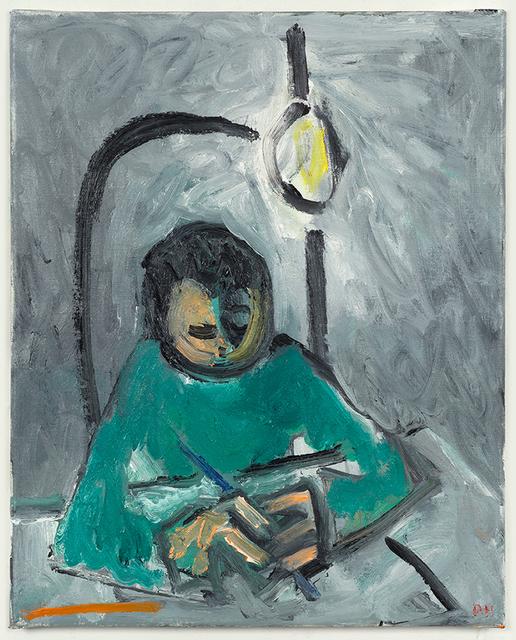 , 'Drawing as a Boy,' 2017, Anna Zorina Gallery