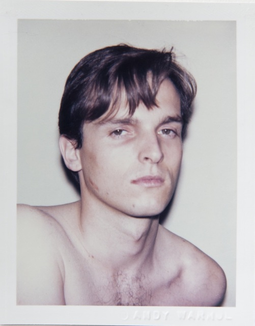 Andy Warhol, 'Andy Warhol, Polaroid Portrait of Miguel Bose circa 1983', ca. 1983, Hedges Projects
