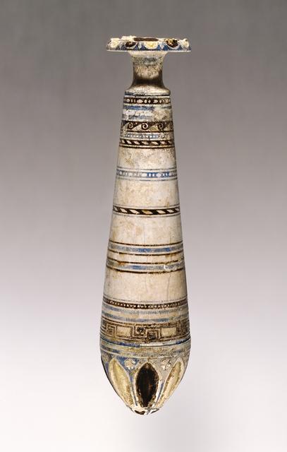 'Alabastron',  2nd century B.C., J. Paul Getty Museum