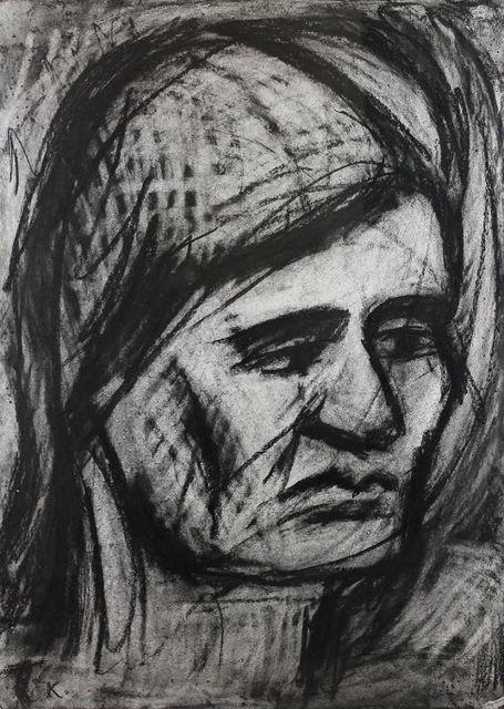 , 'Head of Rosalind,' 1977, Castlegate House Gallery