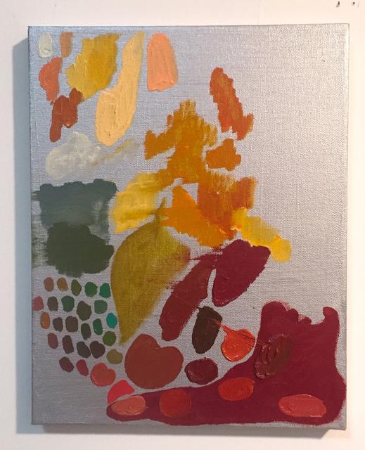 , 'Anya's Colors and Foot,' 2018, CRUSHCURATORIAL