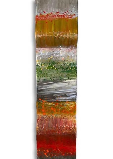 Ken Rausch, 'Rhythm Copper Series I ', 2020, Sculpture, Mixed Media on Copper, Art Leaders Gallery