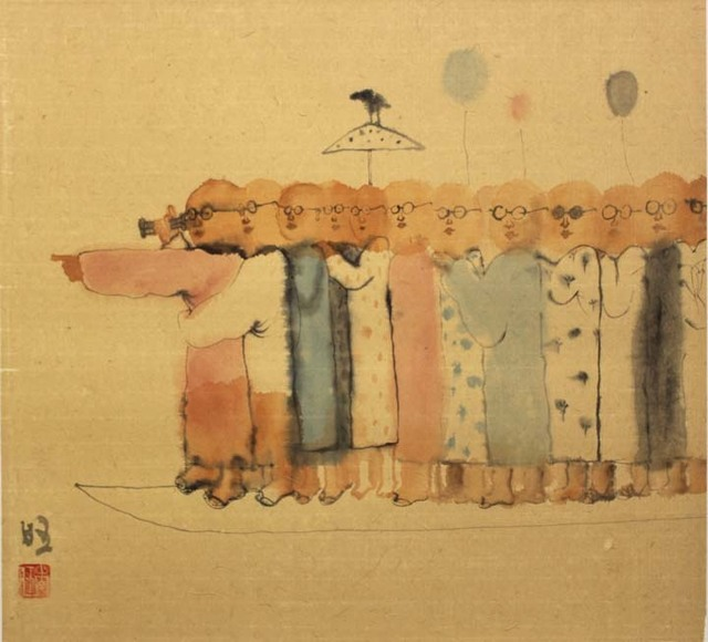, 'Crossing 18-2,' 2018, Tao Water Art Gallery
