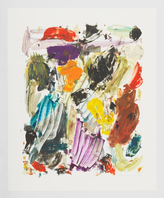 , 'Palette,' 2015, David Zwirner