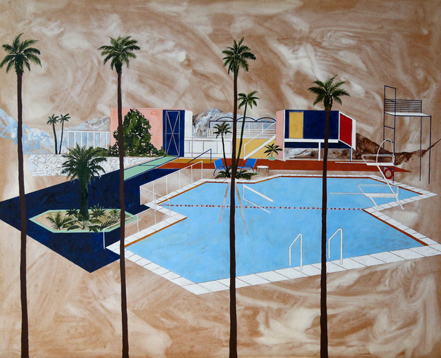 , 'Four Palms ,' , Arusha Gallery
