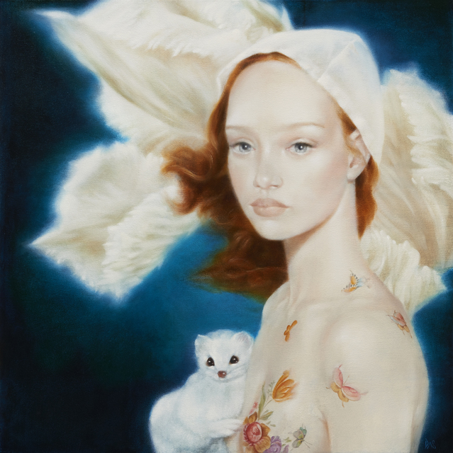 , 'Girl with Ermine (color study),' 2014, Tangent Contemporary Art