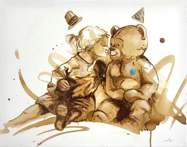 MineWill, 'Soft coffee 5', 2018, Galerie Libre Est L'Art