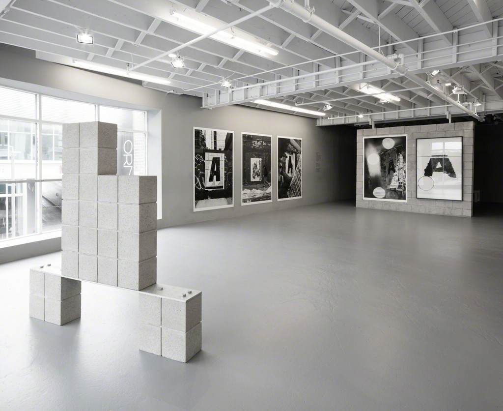 Installation view: Shannon Ebner, A Public Character, 2015. Courtesy of the Artist and ICA Miami. Photo: Fredrik Nilsen Studio.