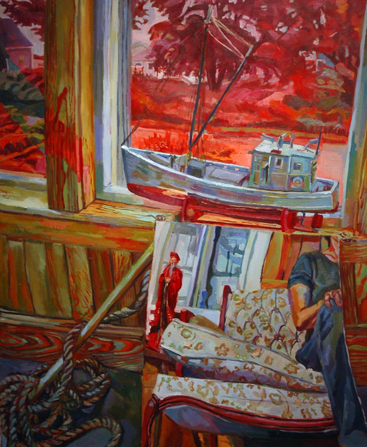 , 'Boat Out of water,' 2012, Blue Mountain Gallery