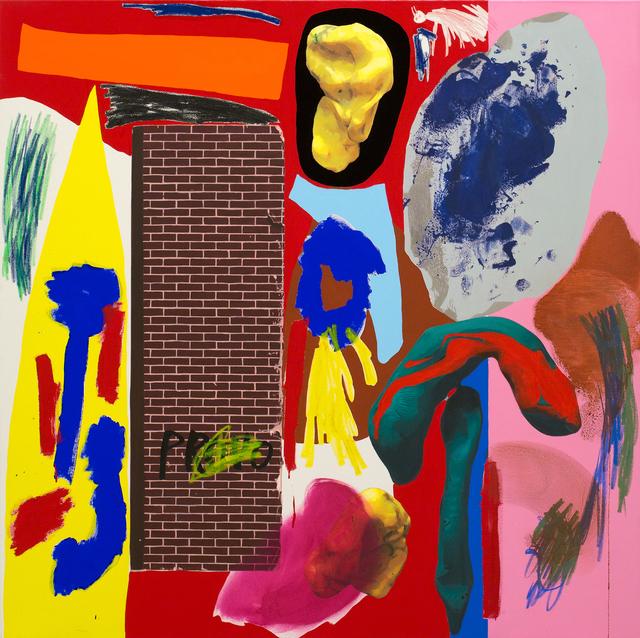 , 'The Yellow Comet,' 2017, Galerie Krinzinger
