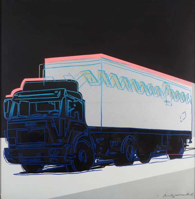 Andy Warhol, 'Truck ', 1985, Print, Screenprint, Visioner