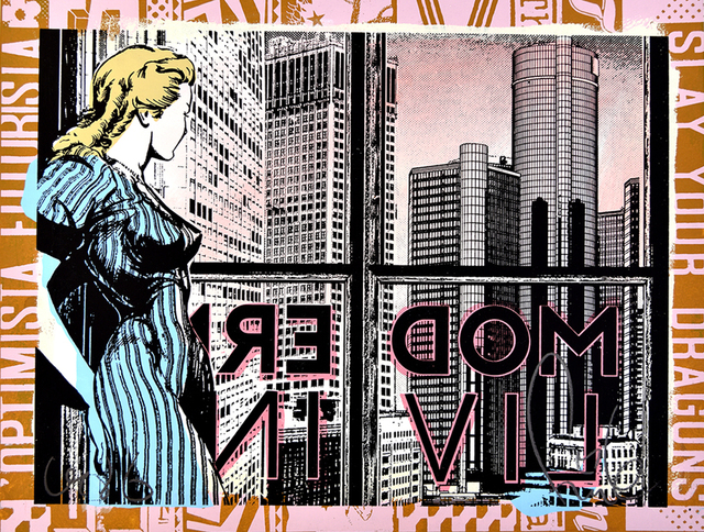 FAILE, 'Modern Living', 2018, PRINTS AND PIECES