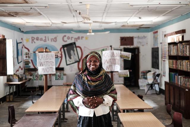 Rebecca Crook, 'Jambiani Secondary School  Zanzibar', 2016, Museum of African Design (MOAD)