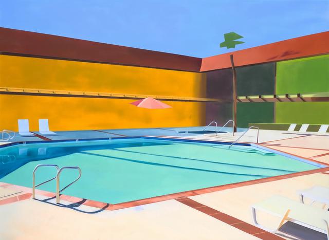, 'Hotel Pool #4,' 2017, Roman Fine Art